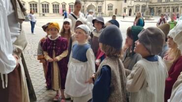 0. Syd på spændende besøg på Kronborg