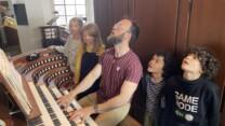 Orgelbrus i kirken